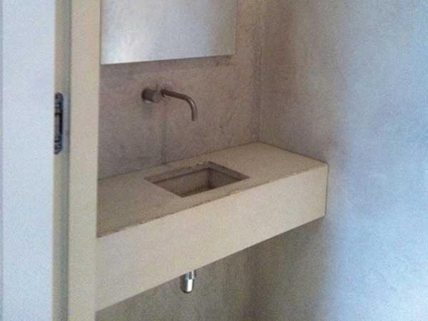 Besserbauen beton cire spezialist badezimmer beton cire
